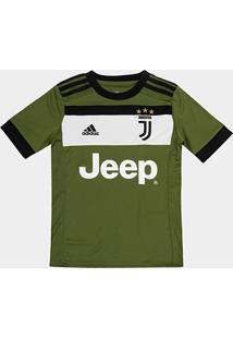 Camisa Juventus Infantil Third 17/18 - S/N Torcedor Adidas - Masculino