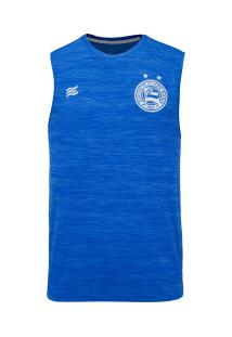 Camiseta Regata Do Bahia Aquecimento 2020 Esquadrão - Masculina - Azul