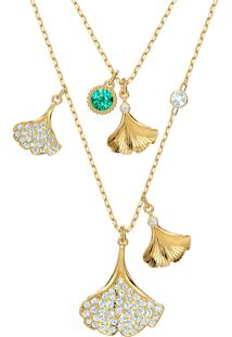 Colar Feminino Stunning Ginkgo - Ouro