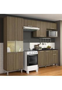 Cozinha Compacta Star 8 Pt 1 Gv Castanho