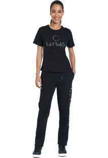 T-Shirt La Clofit Basic Preta