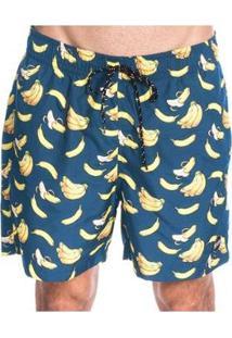 Bermuda Long Island Bananas Masculina - Masculino