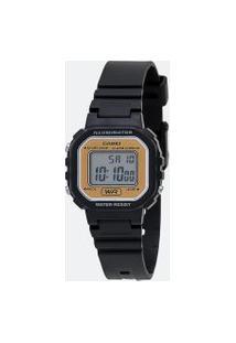 Relógio Unissex Casio La 20Wh 9Adf Digital | Casio | Amarelo Claro | U