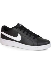 Tênis Casual Masculino Nike Court Royale 2 Preto E
