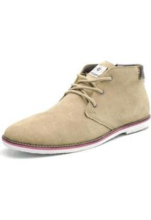 Bota Shoes Grand Cano Curto Masculina - Masculino-Creme