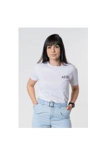 T-Shirt Aero Jeans Aero Branca