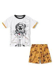 Pijama Tigor T. Tigre Infantil - 10208478I Branco