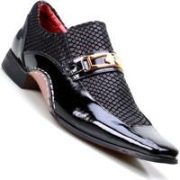 add9baa39 Sapato Social Masculino Calvest Super Confortável - Masculino-Preto