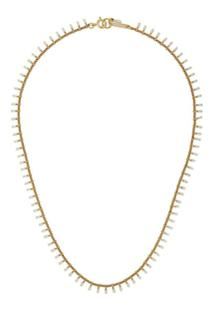 Isabel Marant Casablanca Short Necklace - Dourado