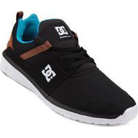 Tênis Dc Shoes Heathrow Masculino - Masculino-Branco+Preto fb3d8e440660f