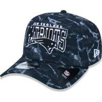 Boné 940 New England Patriots Nfl Aba Curva New Era - Masculino-Preto 19c25e65d7b02