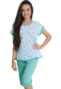 Pijama Rioutlet Pescador Verde Piscina