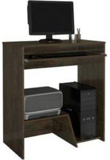 Escrivaninha/Mesa Para Computador Iris Jcm Movelaria Cacau - Marrom - Dafiti