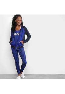 7450e61fef6 Agasalho Adidas Wts Hoodytight Feminino - Feminino