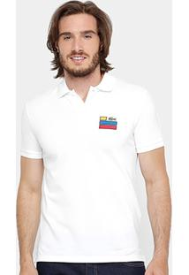 d3bf5dc0d73d9 Camisa Polo Lacoste Slim Fit Fancy Masculina - Masculino