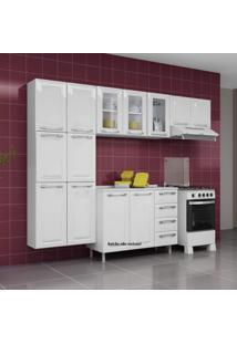 Cozinha Compacta 3 Peças Criativa 11 Portas Criativa Itatiaia Branco