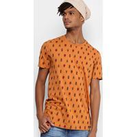 Camiseta Colcci Scaravejo Masculina - Masculino-Laranja Escuro 5de4f396c60