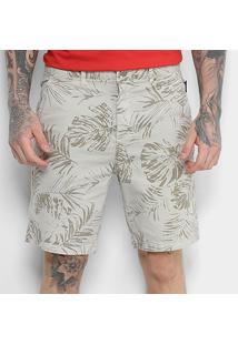 c636f8ca91998 Bermuda Ellus Cotton Twill Ly Different Leaves Slim Masculina -  Masculino-Jeans