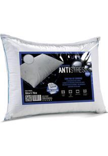 Travesseiro Antistress 50X70 - Altenburg. - Branco