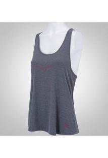 Camiseta Regata Com Proteção Solar Uv Mizuno Liberty - Feminina - Cinza 0ab71302115