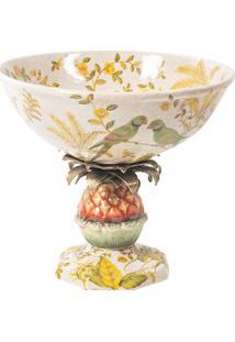 Centro De Mesa Decorativo De Porcelana Le Paradis
