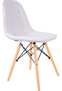 Cadeira Charles Eames Botonê Branca