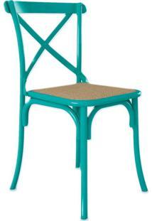 Cadeira De Jantar Katrina Turquesa