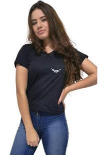 Camiseta Gola V Cellos Wings Premium Feminina - Feminino