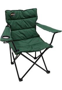 Cadeira Dobrável Nautika Boni Com Porta Copo - Unissex