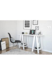 Mesa Para Computador Politorno Delta 170383 Branco Se