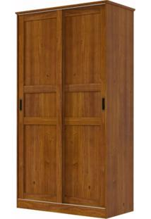 Guarda Roupa Finestra 1729 Onix 02 Portas De Correr Imbuia