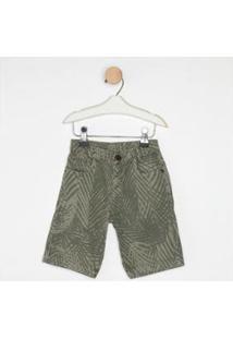 Bermuda Jeans Express Congo - Masculino-Verde