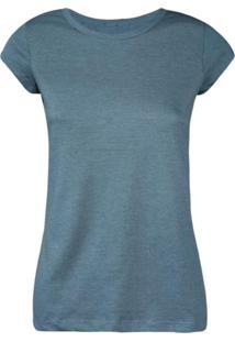 Camisetas Khelf Camiseta Feminina Manga Curta Azul Marinho - Azul Marinho - Feminino - Dafiti