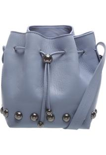 Mini Bucket Blue Jeans   Schutz