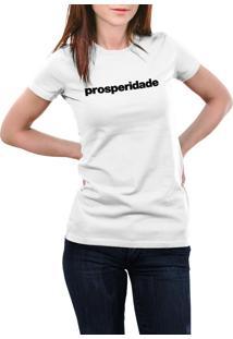 Camiseta Hunter Prosperidade Branca