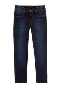 Calça Jeans Infantil Menino Skinny Hering Kids Azul
