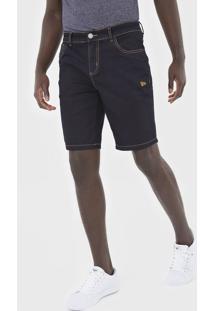 Bermuda Jeans New Era Reta Azul-Marinho