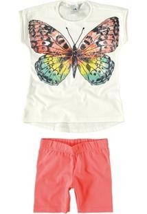 Conjunto Para Menina Borboleta Preto infantil   Shoes4you 90887690e7