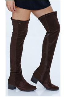 Bota Feminina Over The Knee Mississipi X7658