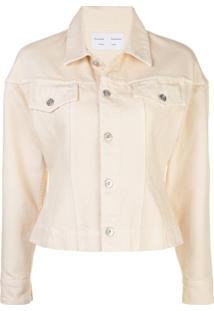 Proenza Schouler White Label Jaqueta Jeans - Branco