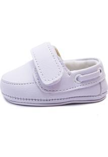 Sapato Clacle Bebê Branco