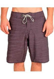 Bermuda Hang Loose Híbrida Texture - Masculino-Preto
