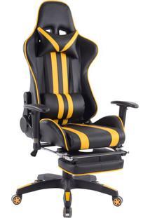 Cadeira Gamer Legends Preta E Amarela