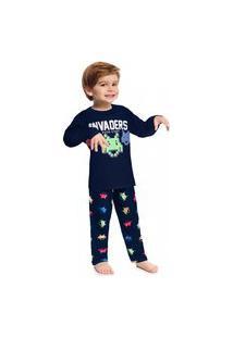 Pijama Infantil Menino Kyly Marinho