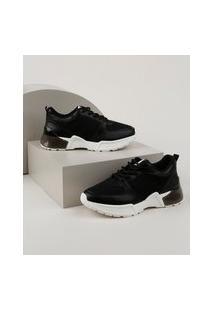 Tênis Feminino Bebece Sneaker Chunky Preto