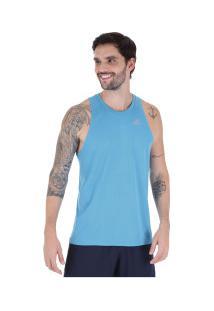 Camiseta Regata Adidas Own The Run Sng - Masculina - Azul Claro