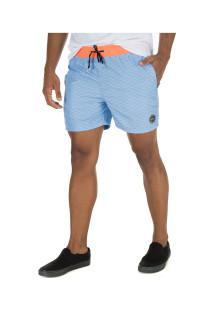 Bermuda O'Neill Volley 8772A - Masculina - Azul