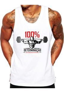 Camiseta Regata Criativa Urbana Fitness Academia Frases - Masculino