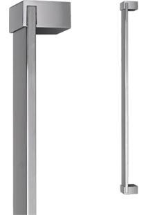 Puxador Para Porta Em Alumínio Concept Pca04 80Cm Polido
