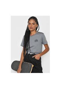 Camiseta Vans Mascy Cinza